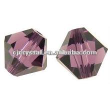 Einzigartige Großhandel Perlen, Bicone Glasperle