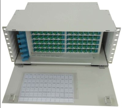 Fiber Optic Odf 48 Core Sm Fc Pc