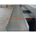 Gi HDG PC Outdoor Perforated Cable Tray with Wall Mouting Brackets Roll Forming Making Machine Philippines
