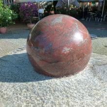 Großhandel Naturstein Garten Dekoration Granit Ball