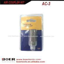 Luft Quick Coupler Blisterkarte verpackt
