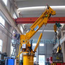 Grue industrielle télescopique hydraulique d'ascenseur de boom d'extension