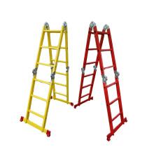 New design colored 4x3 Aluminium Multi Purpose Step Ladder