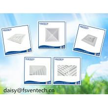 Diffuseur d'air carré en aluminium de ventilation d'air de systèmes de la CAHT
