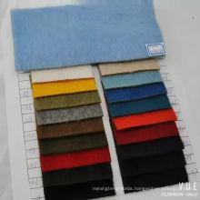 wool alpaca blend fabric for winter coat long hair