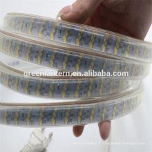 bande menée flexible 180led / m IP67 220V 2835 a mené la lumière de bande
