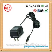 Adaptador de fonte de alimentação linear UL 16V AC DC