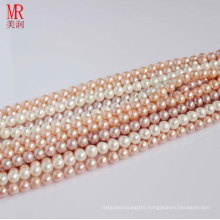 6-7mm Round Real Pearl Strand Wholesale