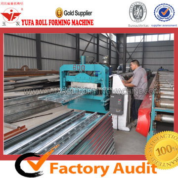 Steel Floor Decking Plate Roll Forming Machine