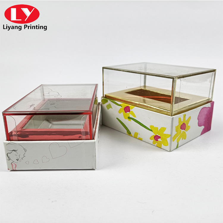 Clear Lid Perfume Box