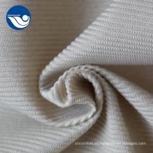 Tela de tapicería de terciopelo a rayas