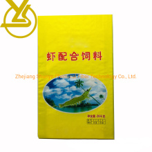 15kg 20kg Rice Animal Feed PP Woven Packaging Sack Bag