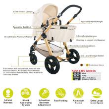 Ce aprovado europeu e austrália tipo carrinho de bebê popular com quatro rodas