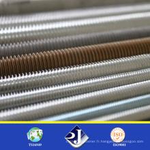 Barre de filetage en acier inoxydable DIN975 en ligne