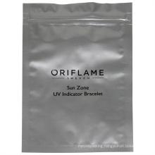 Customized Logo Printing Laminated Heat Sealing Aluminum Foil Zipper Bags