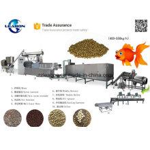 Gold Fish alimentación diaria haciendo / presionando la máquina de pellets de alimentos
