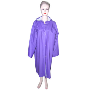 Womens violet PVC imperméable