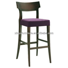 Fashion popular design soild wooden high bar chair XYH1056
