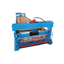 Metal trapezidal roof roll forming machine