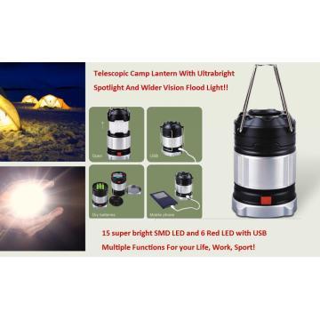 Мощный привело кемпинг фонарь телескопические