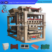 building construction hollow cement block making equipment Korea