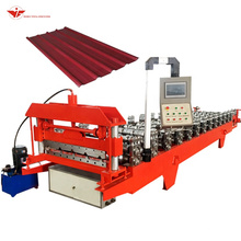 color coated ibr sheet making roll forming machine