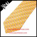 2015 New Fashion Men Silk Made Logo Printed Custom Ski Ties