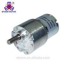 Motorreductor de CC de larga duración y bajo ruido Motor de dispensador de jabón