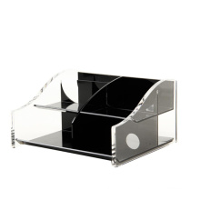 Factory Wholesales Custom Clear Compartment Storage Display Box Acrylic Organizer