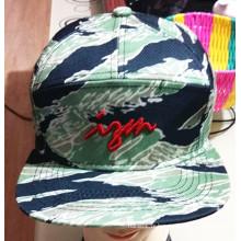 100% coton imprimé et broderie mode sports casquettes de baseball