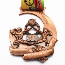 Promotion Free Sample Custom Metal Sport Award Medal Ribbon Holder