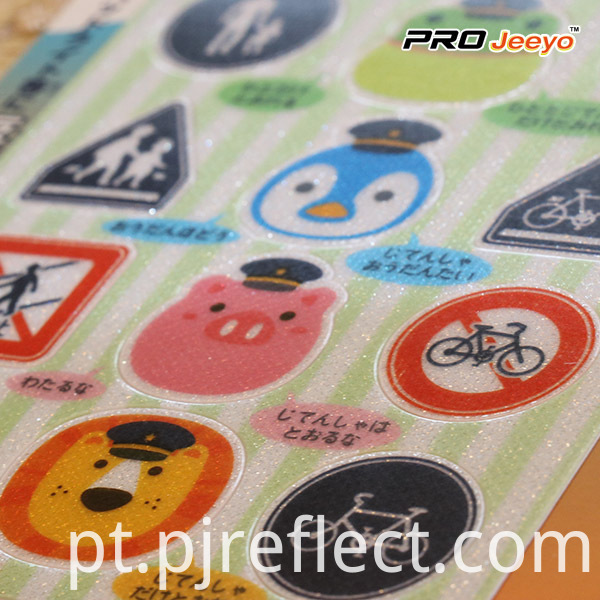 Shining Adhesive Penguin Sticker
