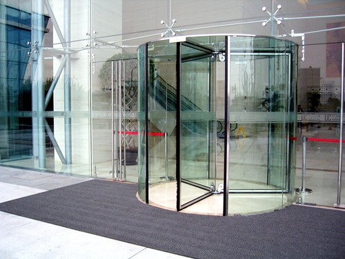 Ningbo GDoor All Glass Revolving Doors with Full Vision