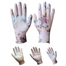 Nahtloses gestricktes Frauen-Graben, das wasserdichte Arbeitsschutz-Hand-Garten-Genie-Handschuhe pflanzt