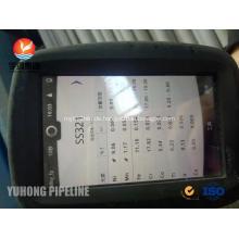 Nahtloses Rohr ASTM A213 TP321 Wärmetauscherrohr