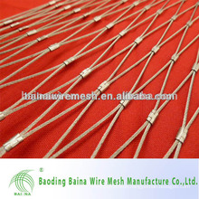 Promotion X-tend flexible steel cable rope mesh fence Manufacture