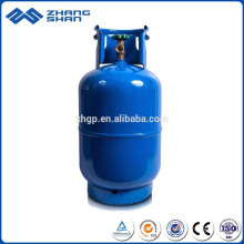 Portable 12.5kg International Standard Empty Cooking LPG Gas Cylinder Tank