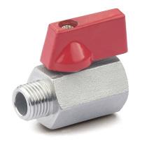 Мини-шаровой клапан с резьбой из нержавеющей стали (M / F)
