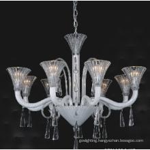 White Graceful Glass Pendant Lights (81066-8)