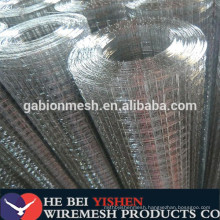"""Square /rectangle hole shape and low carbon iron wire material 2""""x2"""" galvanized welded wire mesh"""