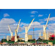 30t30mhydraulic Electric Marine Deck Crane