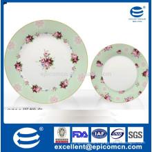 China kitchenware ceramics porcelain cake stand 2 decks