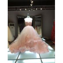 1A363 vestido europeo de gama alta / vestido de noche vestido de novia