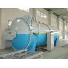 Automatic Glass Industrial Autoclave Pressure Vessel