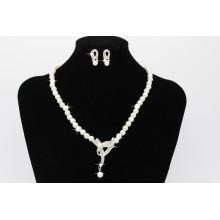 2017 Wunderschöne Perle Perlen Frauen Zubehör Halskette Ohrring