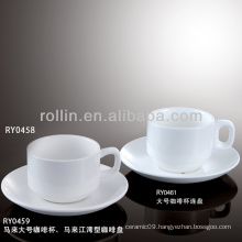 hotel&restaurant coffee cup set, antique coffee cups and saucers
