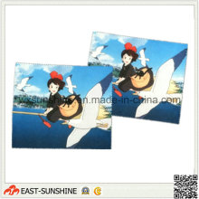 Two Side Flannel Glasses Cloth for Cleaning (DH-MC0420)
