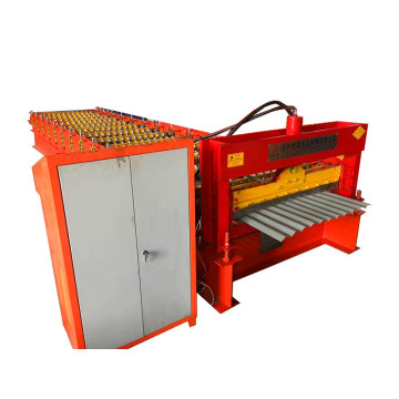 Gegolfd wandpaneel rolvormen machine