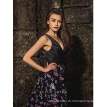 Bella Braut verschiedene Arten von Frocks Designs Stickerei Abendkleid Frauen lange Kittel