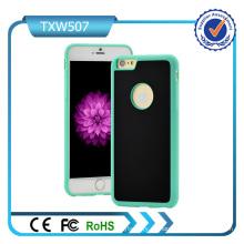 Cubierta personalizada de la caja del teléfono celular Tc + TPU